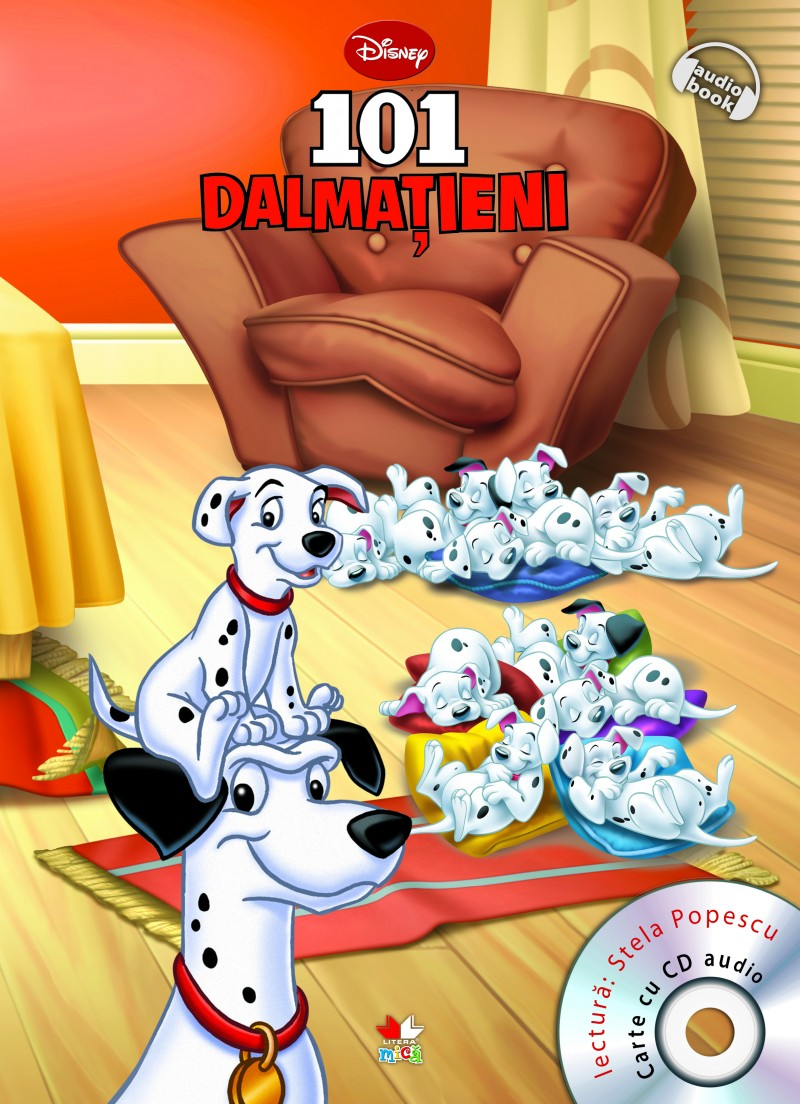DISNEY. 101 DALMATIENI CARTE+CD