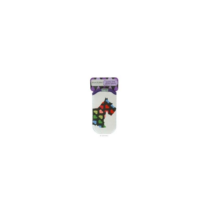 Husa Iphone/Ipod Poppies Scottie Dogs