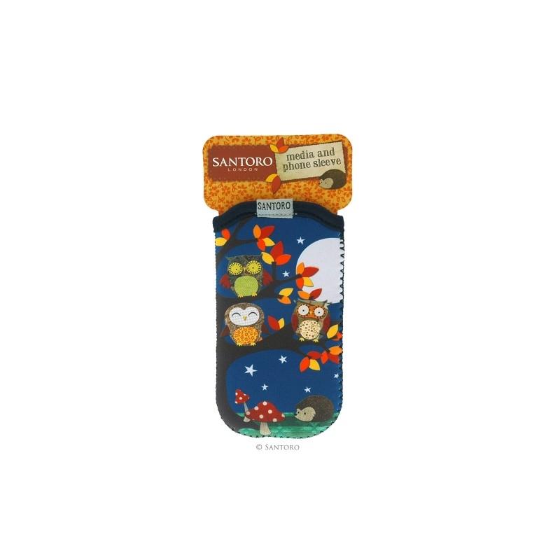 Husa Iphone/Ipod Poppies Owls