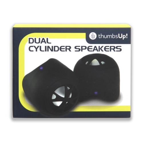 Dual Cylinder Speaker