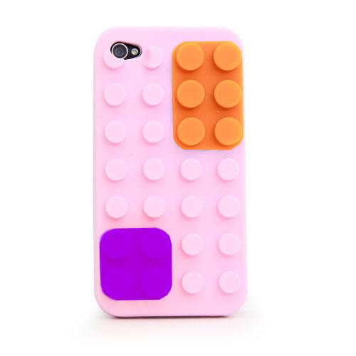 iPhone 4-Colour Block Case - P