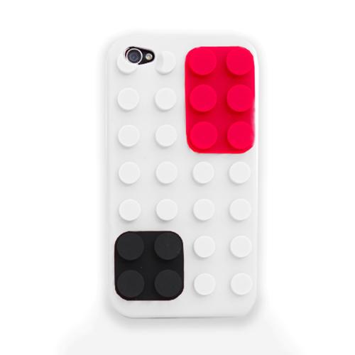 iPhone 4-Colour Block Case - W