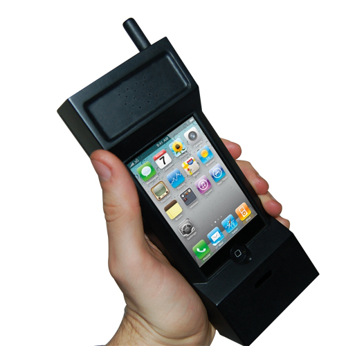 80's Style Retro Mobile Phone for iPhone 3 & 4