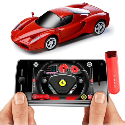 Smart Phone Control Ferrari Scale - 1:50