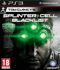 SPLINTER CELL BLACKLIST UP ECHE ED - PS3