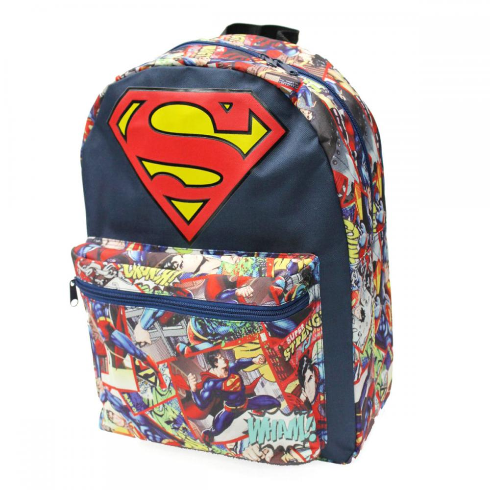 Superman Backpack Big Logo