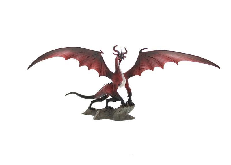 Dragon Age II Statue Flemeth Dragon 11 cm