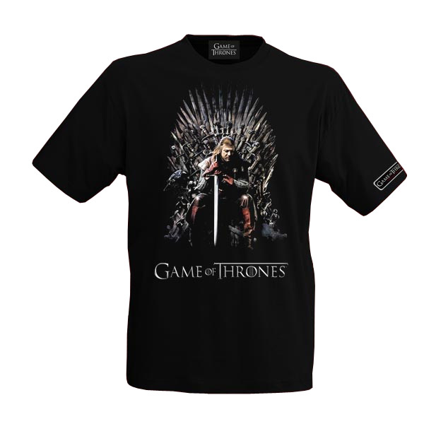 Game of Thrones T-Shirt Eddard Stark Size M