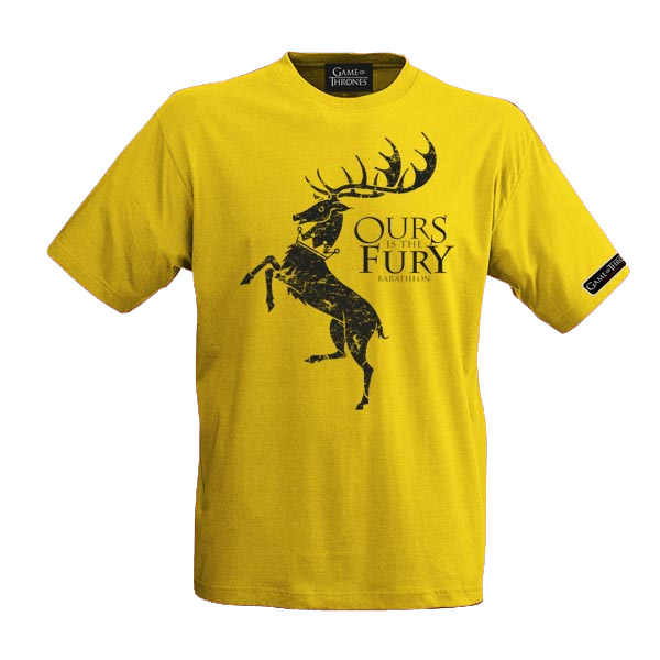 Game of Thrones T-Shirt House Baratheon Size XL