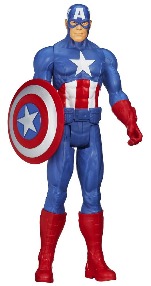 Avengers Assemble Titan Hero Series Action Figure Captain America 30 cm