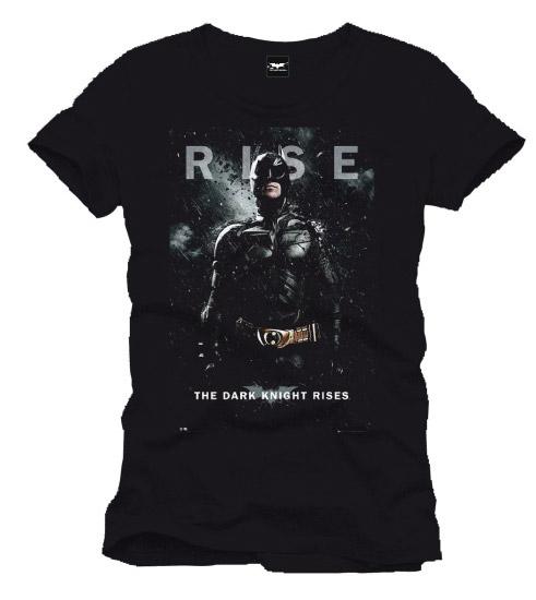 The Dark Knight Rises T-Shirt Rise black Size XL