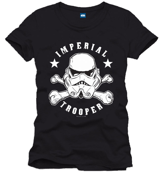 Star Wars T-Shirt Imperial Trooper Size M