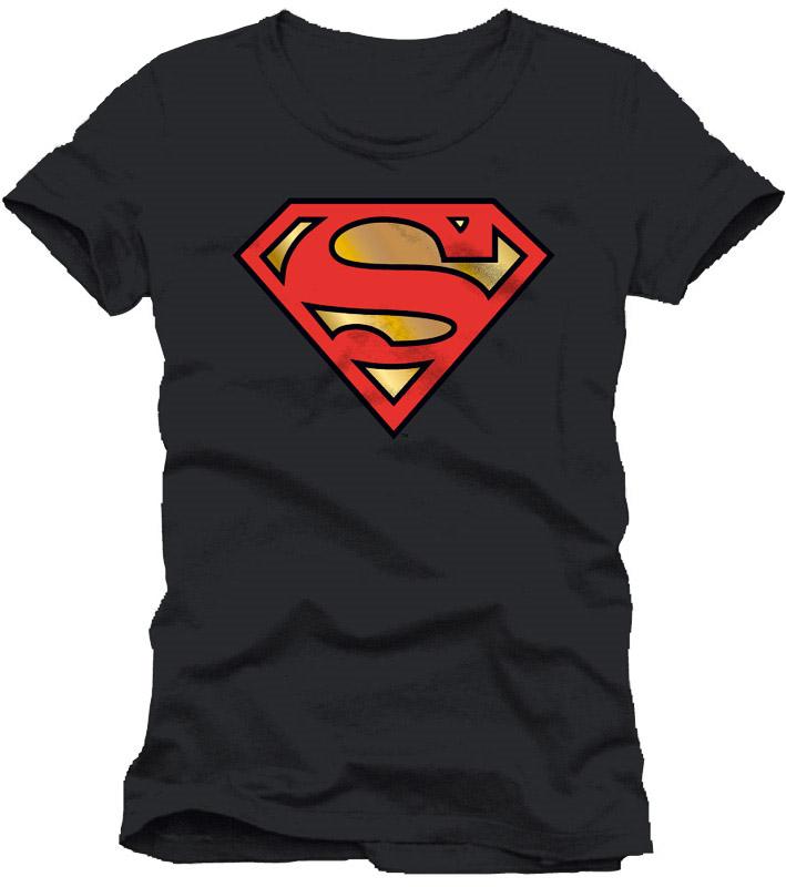 T-Shirt Golden Logo black Size L