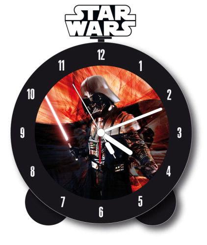 Star Wars Alarm Clock with Sound Glow In The Dark Darth Vader