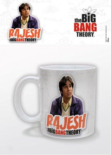 The Big Bang Theory Mug Rajesh
