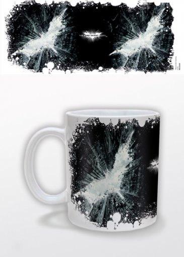 Batman The Dark Knight Rises Mug Silhouette