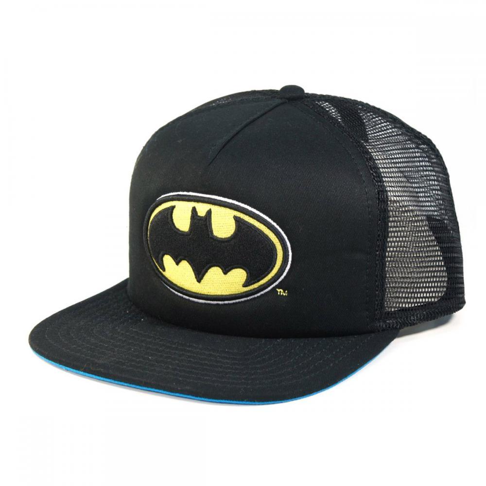 Batman Trucker Cap Logo