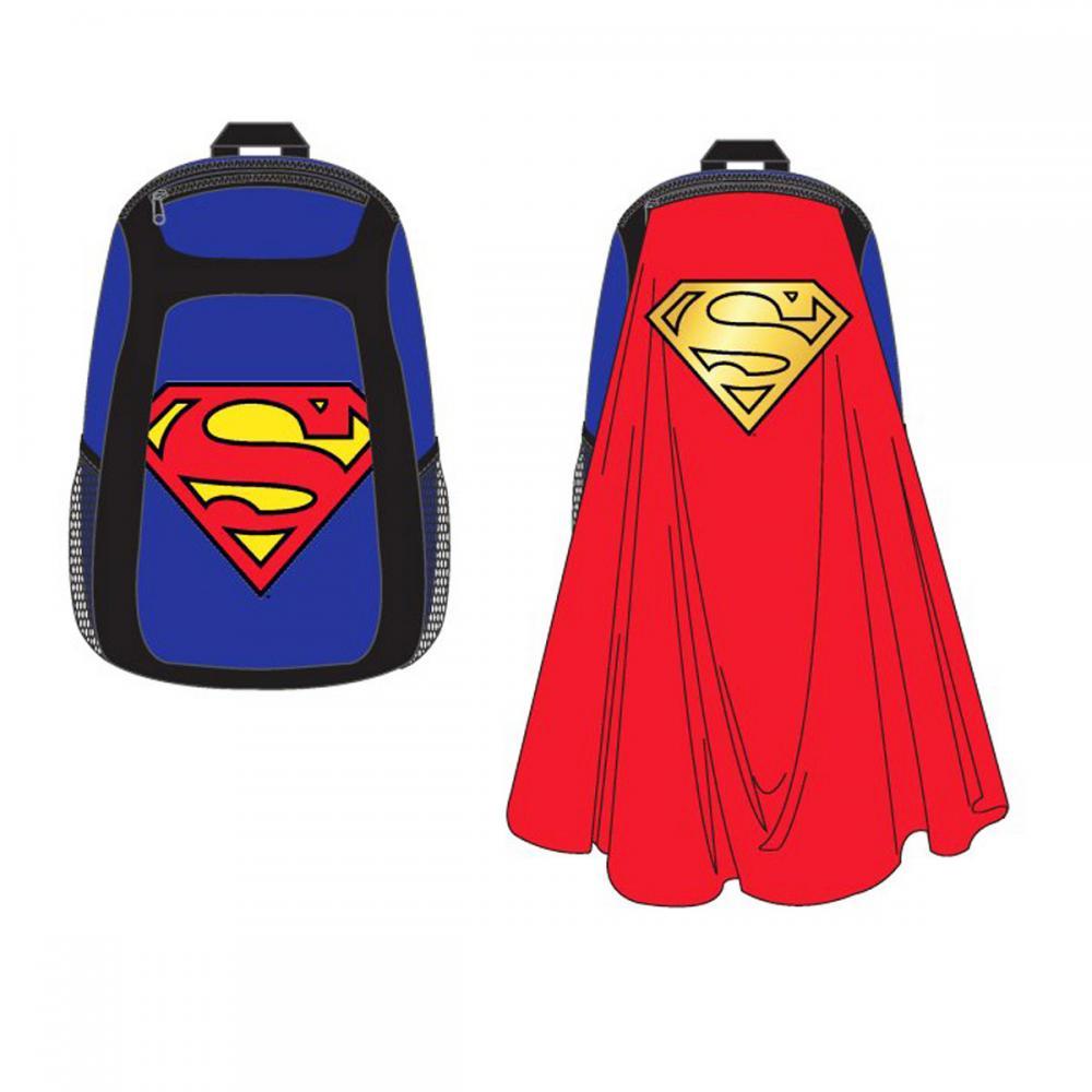 Superman Backpack Novelty Cape