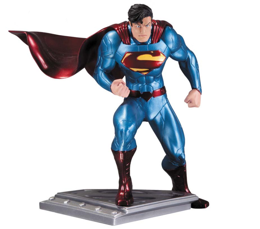Superman The Man Of Steel Statue Jim Lee 17 cm