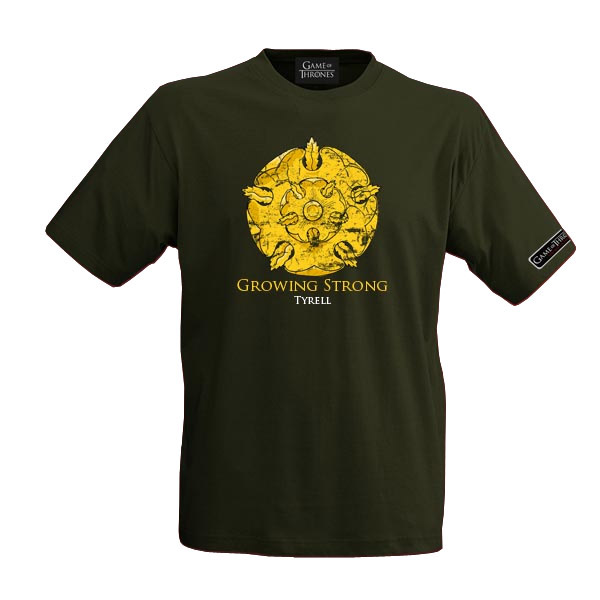 Game of Thrones T-Shirt House Tyrell Size XL