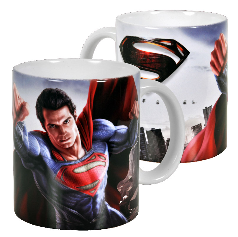 Man Of Steel Mug Poster
