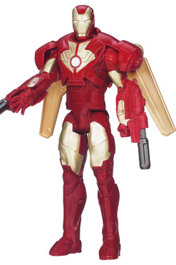 Iron Man 3 Titan Hero Series Action Figure Wing Attack Iron Man 30 cm