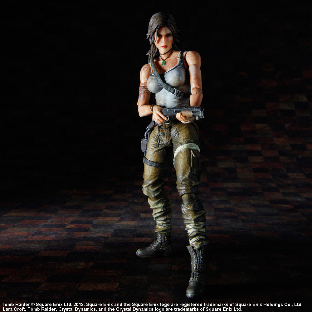 Tomb Raider Play Arts Kai Action Figure Lara Croft 20 cm