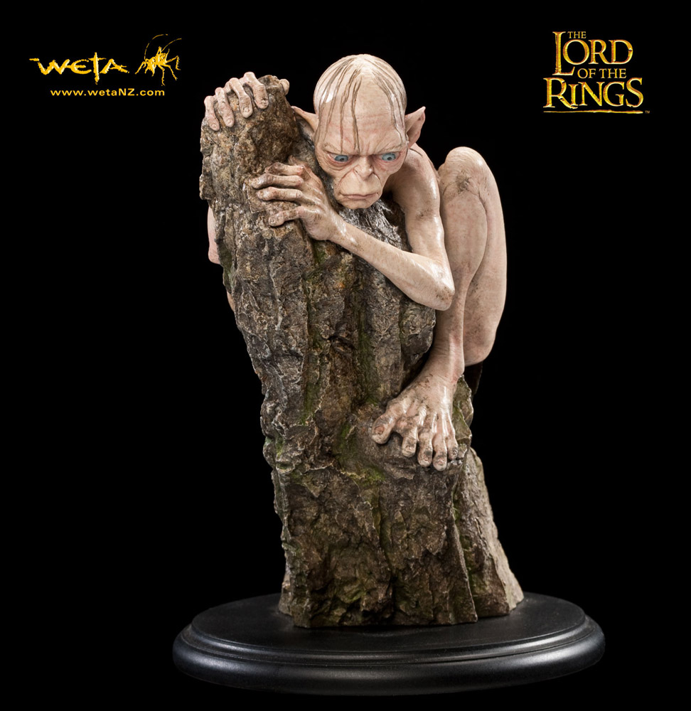 Lord of the Rings Statue Gollum 15 cm
