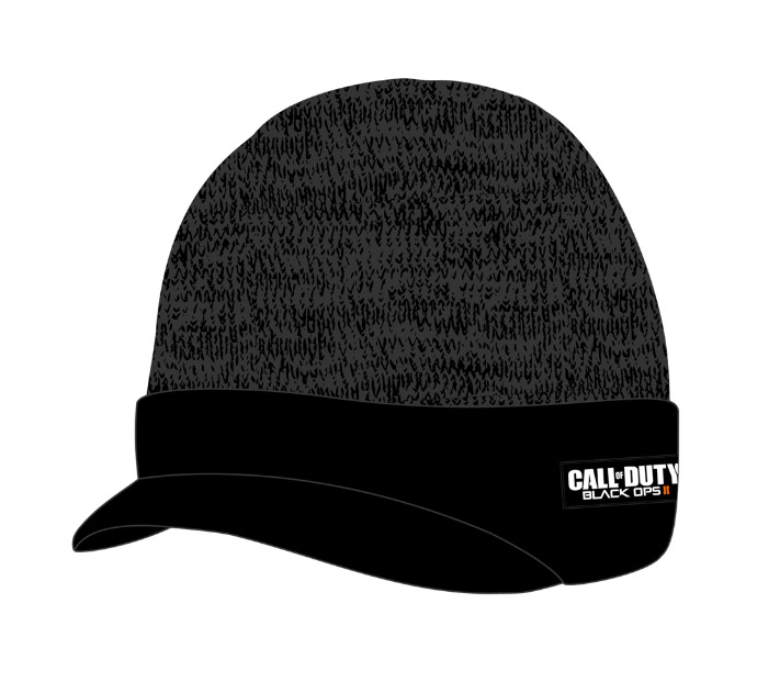 Call of Duty Black Ops II Billed Beanie Marled Cuff