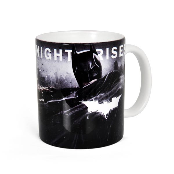 Batman The Dark Knight Rises Mug Logo
