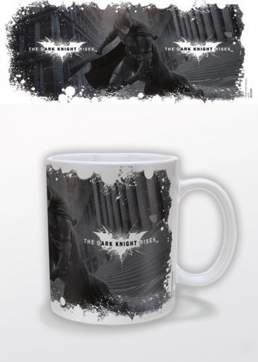 Batman The Dark Knight Rises Mug White Logo