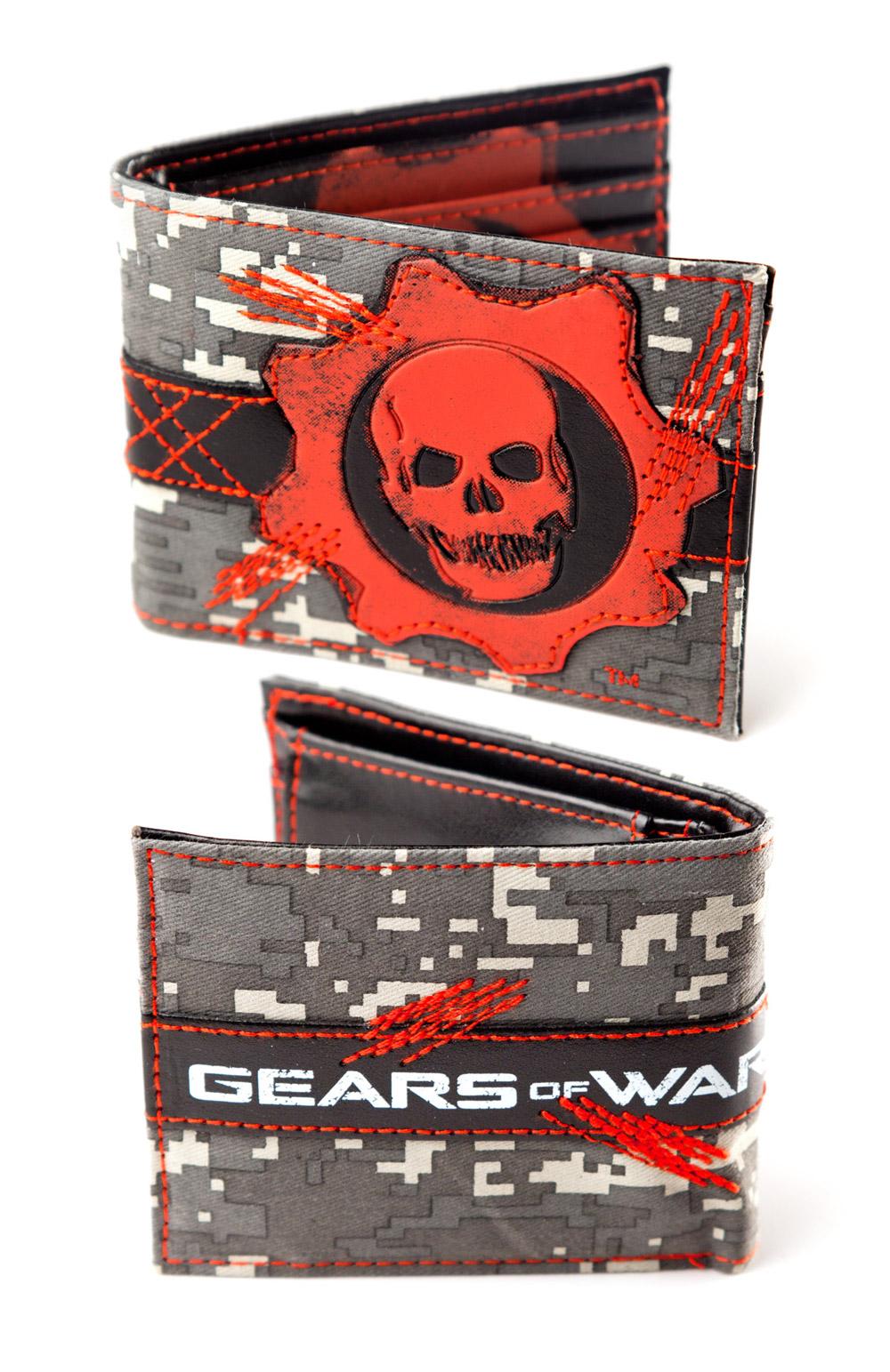 Gears of War Wallet Fullprinted