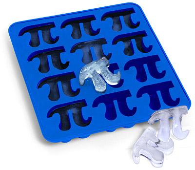 Pi Symbol Silicone Tray