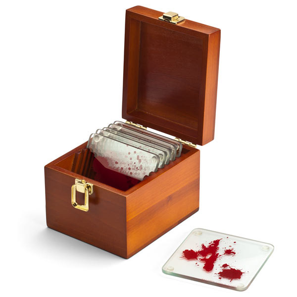 Dexter Blood Spattered Coaster Set (6)
