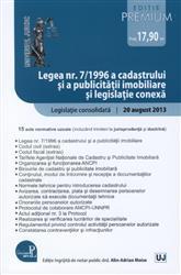 LEGEA NR. 7/1996 A CADASTRULUI SI A PUBLICITATII IMOBILIARE SI LEGISLATIE CONEXA