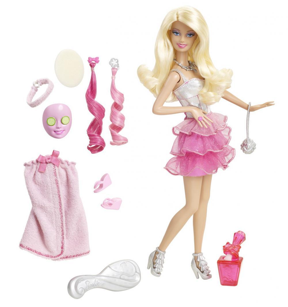 Set Barbie o zi la spa