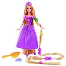 Papusa Rapunzel set joaca cu accesorii de par