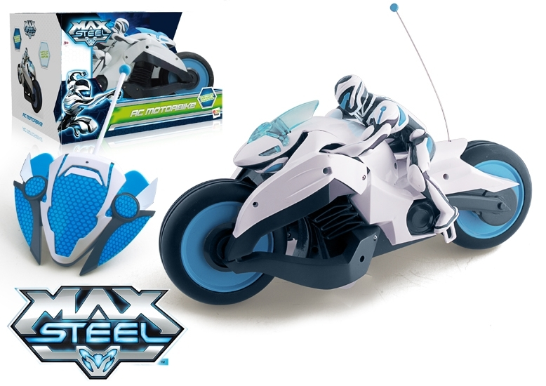 zzMotocicleta Turbo Max Steel