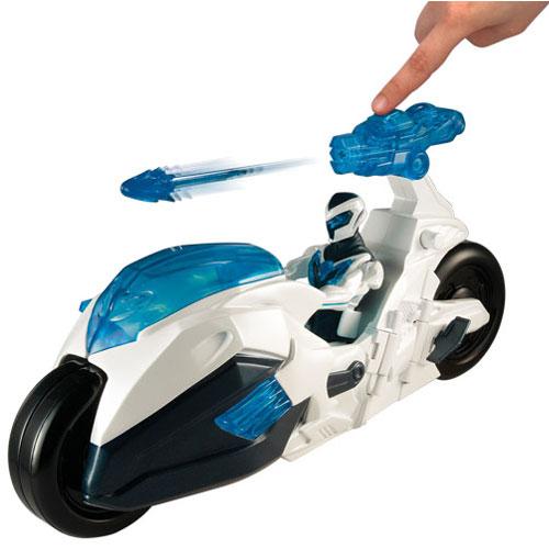 Motocicleta zburatoate Max Steel