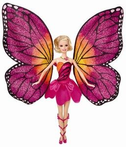 zzPapusa Barbie Mariposa