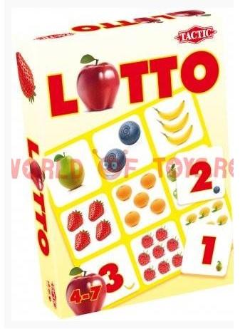Joc Loto numere si fructe