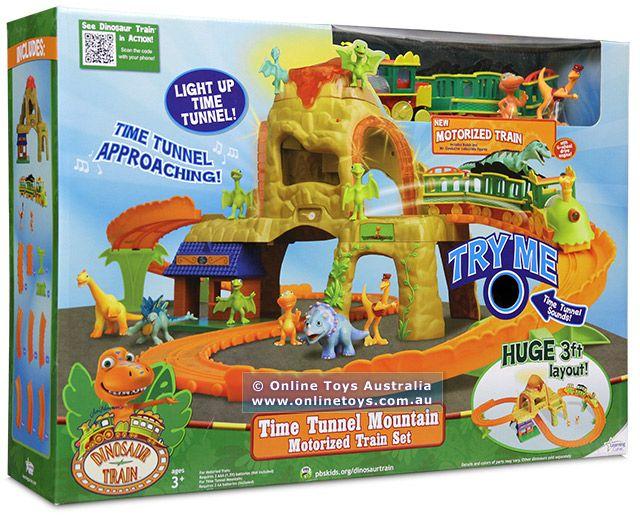 Set tunelul timpului Dinosaurs Train