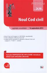 NOUL COD CIVIL. ACTUALIZAT 16 SEPTEMBRIE 2013