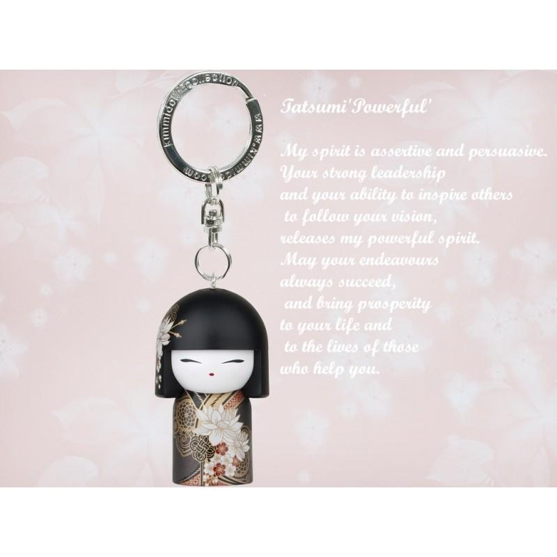 Breloc cu figurina 3D Tatsumi,Kimmidoll