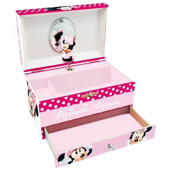 Caseta muzicala,1sertar,roz,Minnie
