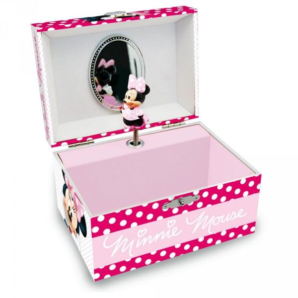 Caseta muzicala,roz,Minnie