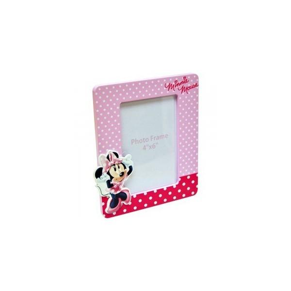 Rama foto,din lemn,roz,Minnie
