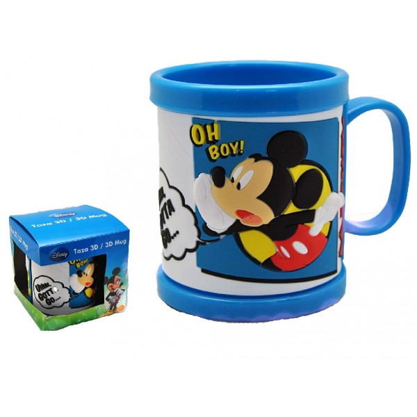 Cana 3D, din plastic, Mickey