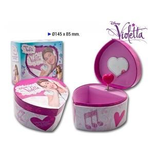 Caseta muzicala,forma inima,Violetta