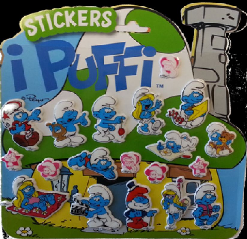 Sticker 3 Strumfii